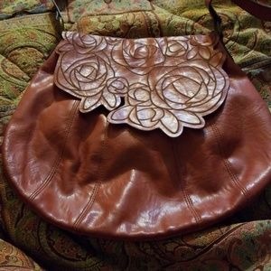 "Stamp 10 ""Hippie Hobo"" shoulder bag handbag purse,"